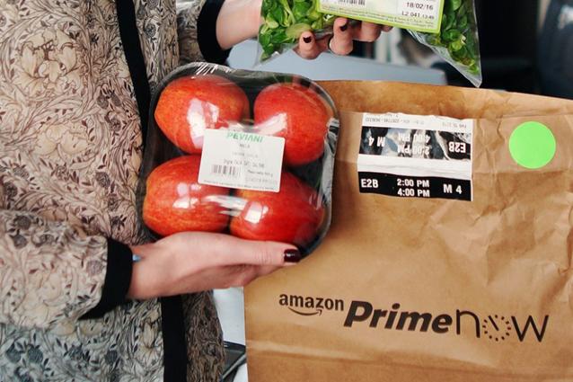Amazon progetta l'apertura di negozi fisici per la vendita di frutta e verdura