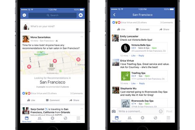 Facebook, novità in arrivo per le Pagine e gli Eventi