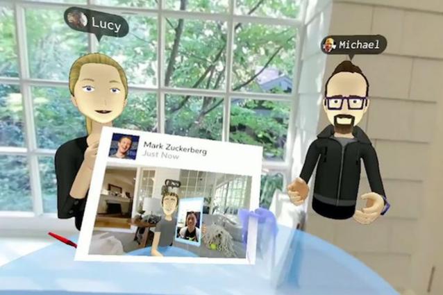Ecco come sarà Facebook in realtà virtuale