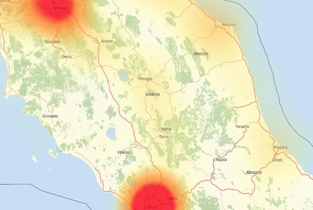 Terremoto, disagi nelle reti telefoniche: ecco come controllare quali operatori hanno problemi