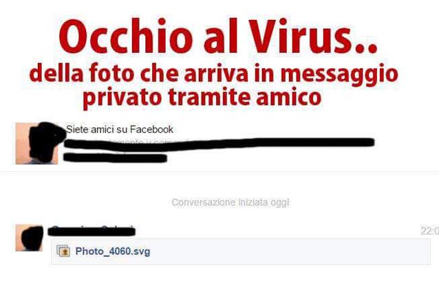 Facebook, attenzione alle immagini che ricevete in chat: ecco il nuovo virus