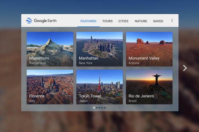 Google Earth VR, la nuova app per vedere il mondo in realtà virtuale