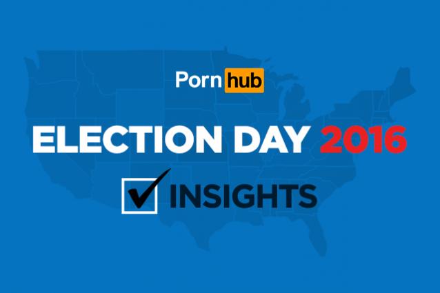 Pornhub, Trump vince le elezioni e i repubblicani festeggiano guardando porno