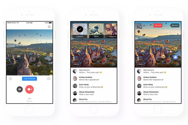 Prisma si aggiorna con il supporto a Facebook Live: come utilizzare i filtri in diretta