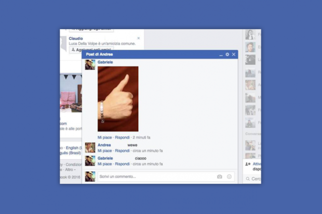 Facebook, ecco il popup per rispondere ai commenti: si apre come una chat