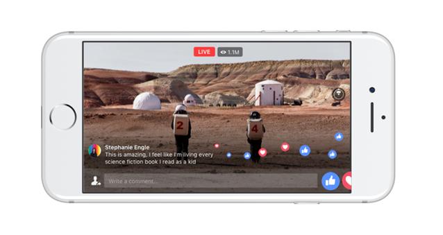 Facebook lancia i Live Video a 360 gradi per tutti gli utenti