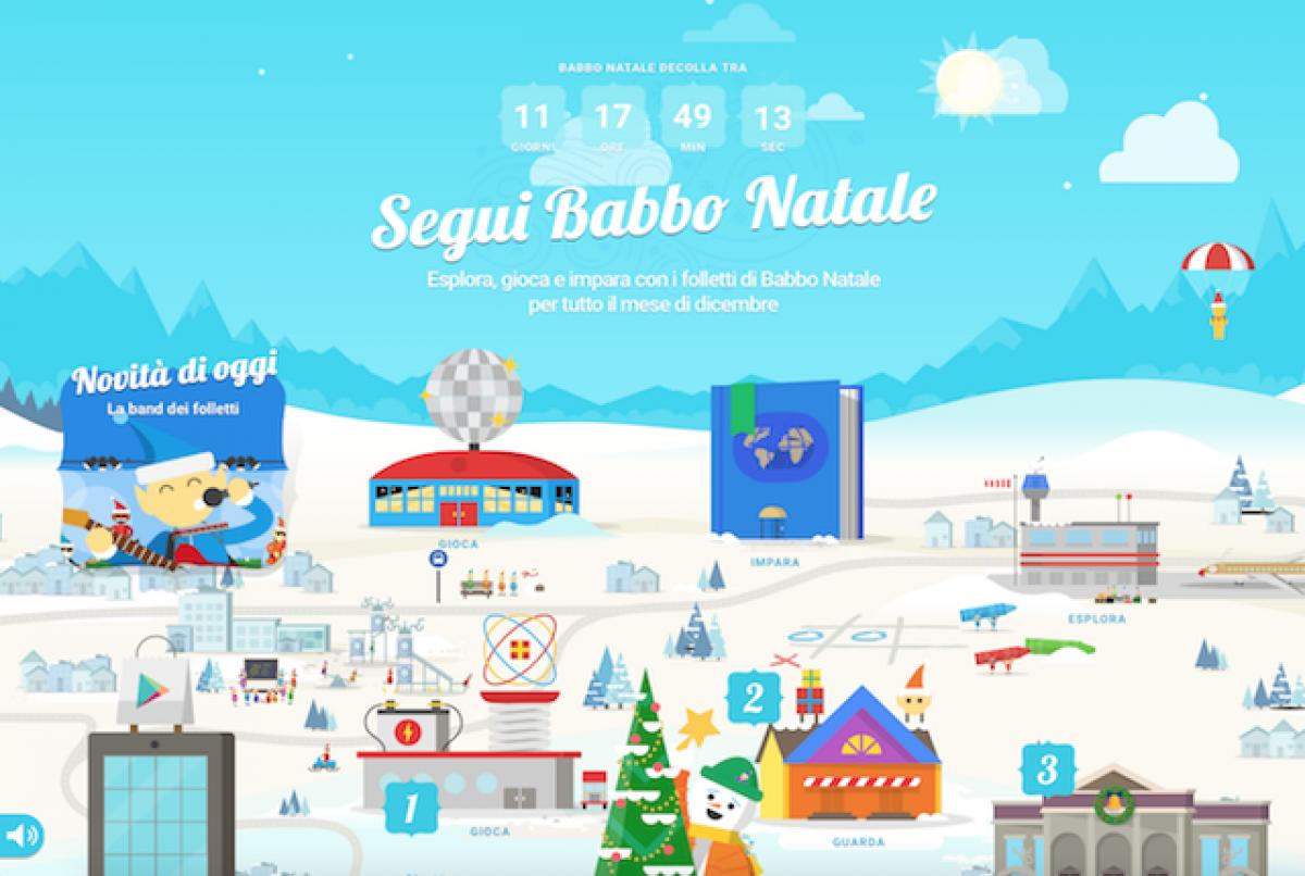 I Minigiochi Di Google Per Le Feste Vola Con Babbo Natale E Balla