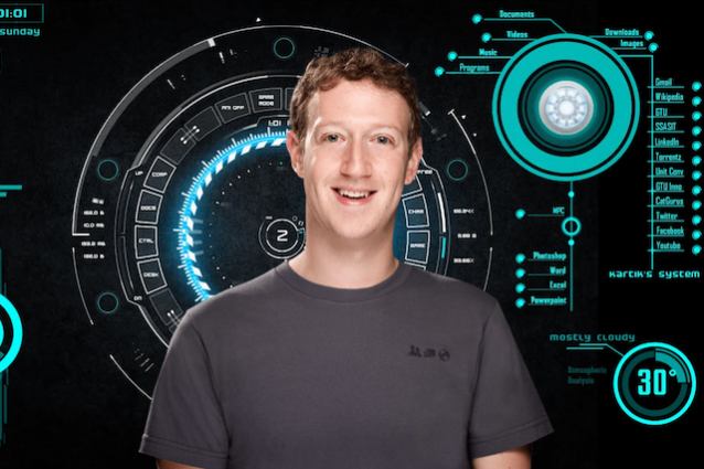 Mark Zuckerberg ha creato Jarvis, l'intelligenza artificiale di Iron Man
