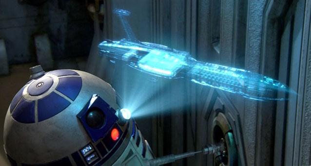 Ologrammi Star Wars