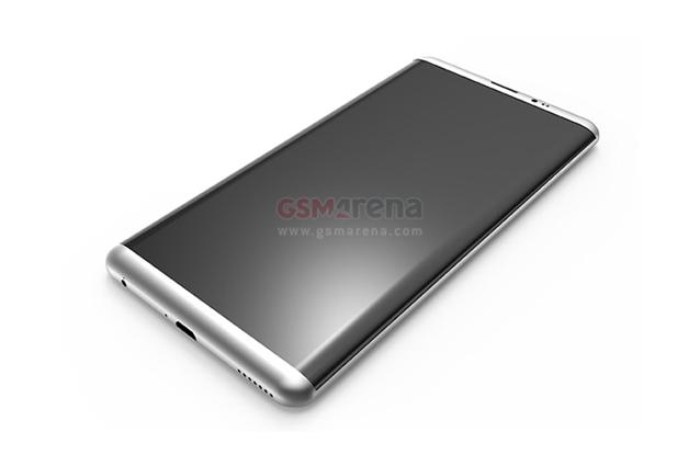 Galaxy S8, render e dimensioni del nuovo smartphone Samsung