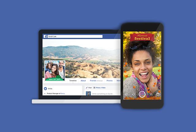 Facebook lancia Camera Effects: cosa sono e come funzionano gli effetti della fotocamera