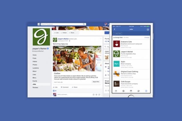 Ora è più semplice trovare lavoro su Facebook