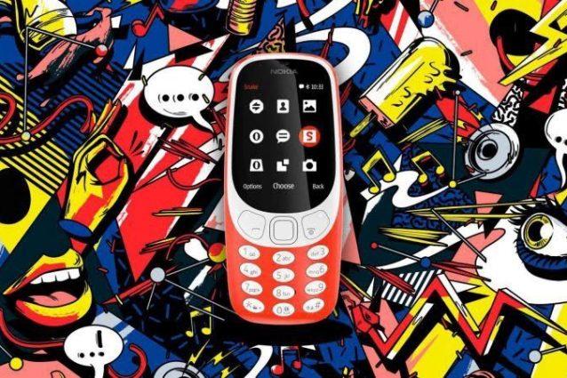 Ecco il nuovo Nokia 3310 (con Snake)