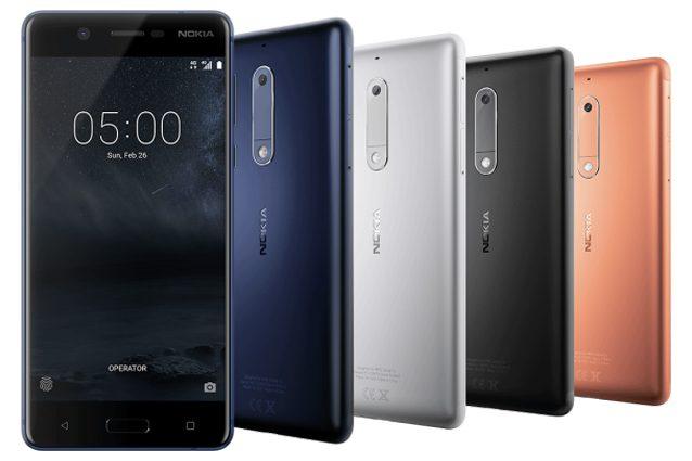 Nokia 6, Nokia 5 e Nokia 3: ecco i nuovi smartphone Nokia con Android