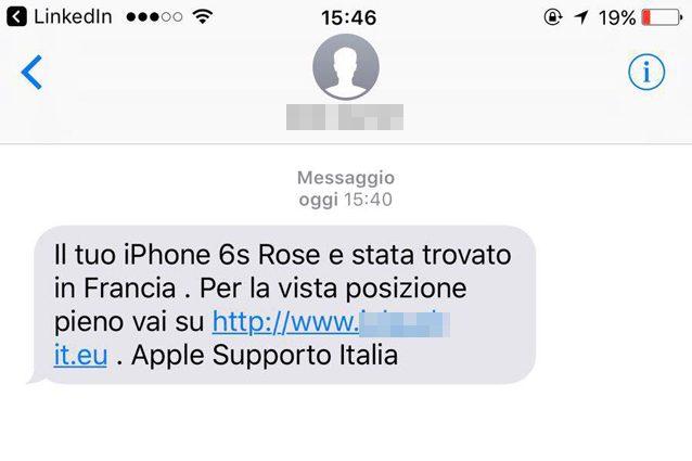 Attenzione alla nuova truffa via SMS: ecco il pericoloso link da non aprire