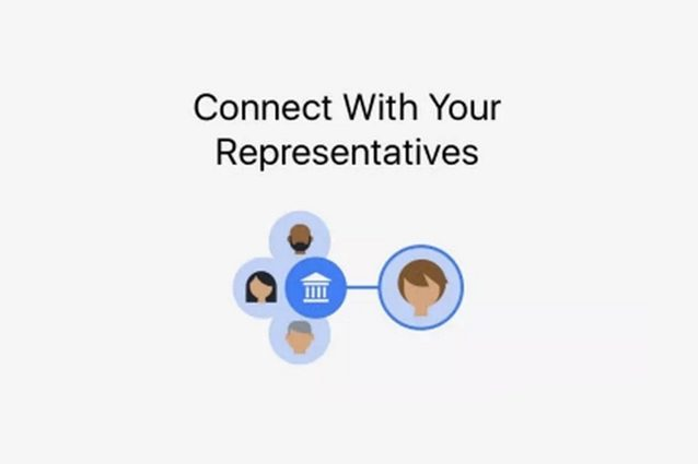Facebook introduce un nuovo servizio per trovare e contattare i politici locali
