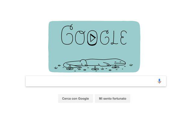 Google celebra i 37 anni del Parco nazionale di Komodo con uno speciale Doodle