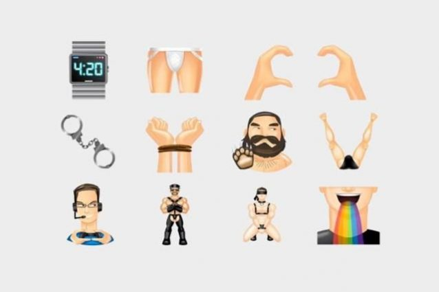 grindr emoji gay