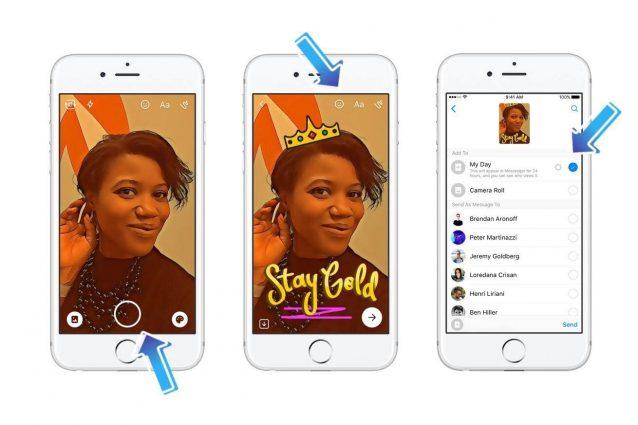 Messenger Day, le Storie arrivano anche su Facebook Messenger: ecco come funzionano
