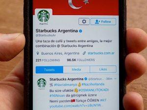 Twitter, un attacco hacker ha causato la pubblicazione di svastiche e messaggi pro-Turchia