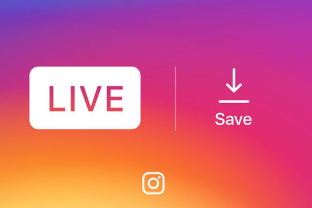 Instagram, i video live personali possono essere salvati offline
