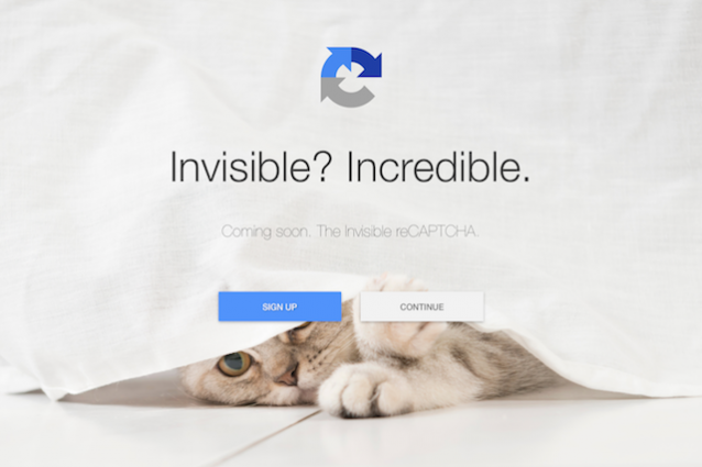 google invisible-recaptcha