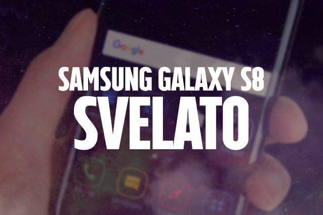 Galaxy S8 è ufficiale: tutte le caratteristiche tecniche del nuovo smartphone Samsung