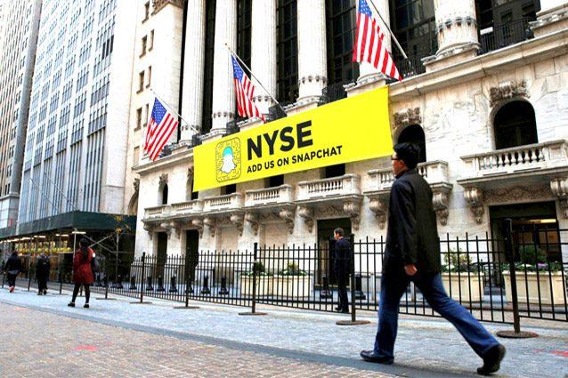 Snapchat approda a Wall Street con un valore di 24 miliardi di dollari