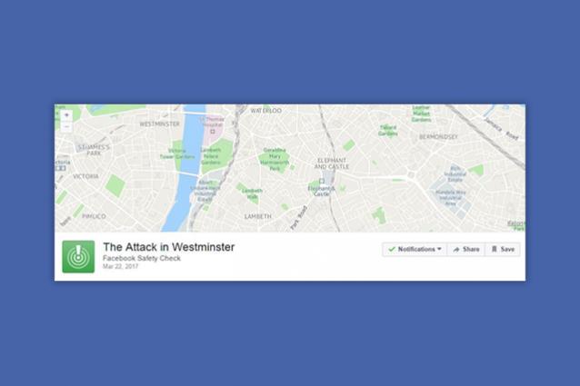 Sparatoria a Londra, Facebook attiva il Safety Check