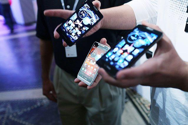 Smartphone con sistema operativo Android (Getty).