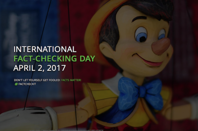 """Oggi è il """"fact-checking day"""", la giornata della verifica delle notizie"""