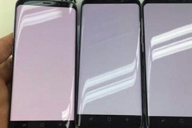 Lo schermo del Galaxy S8 si tinge di rosso: nuovi problemi per Samsung