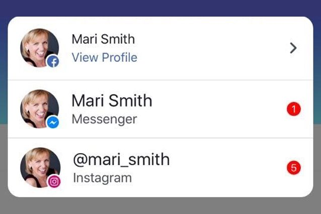 Facebook, Messenger ed Instagram si uniscono