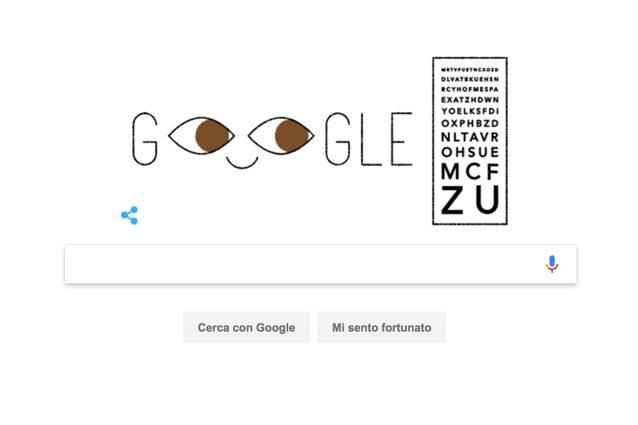 Ferdinand Monoyer, un Google Doodle per l'ideatore dell'unità di misura della diottria
