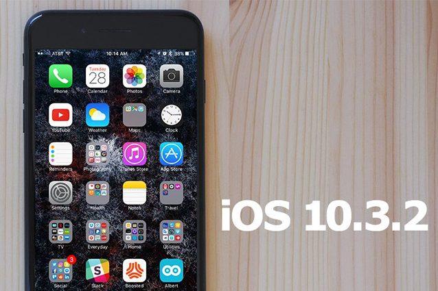 iOS 10.3.2 disponibile per il download gratuito: tutte le novità dell'aggiornamento