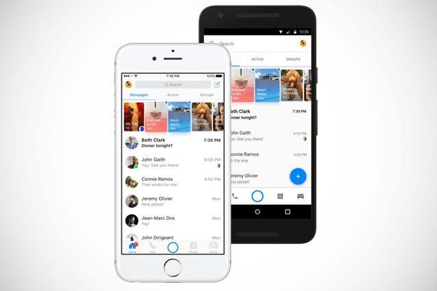 Nuova veste grafica per Facebook Messenger: tutte le novità