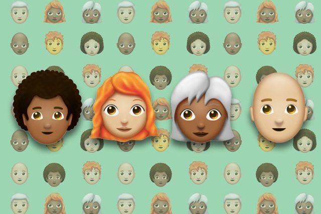 Emoji, in arrivo quattro nuove acconciature di capelli: ecco come saranno