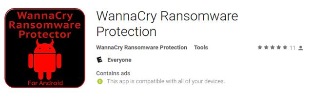 Antivirus per Android contro WannaCry attenzione truffa