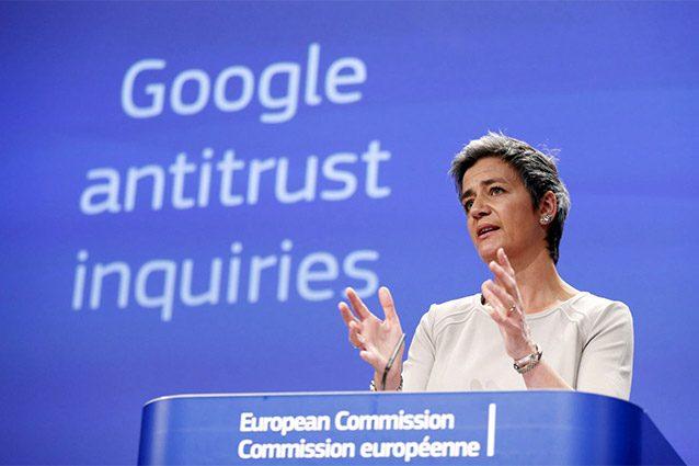 Google rischia una multa da 1 miliardo di euro dall'Antitrust UE