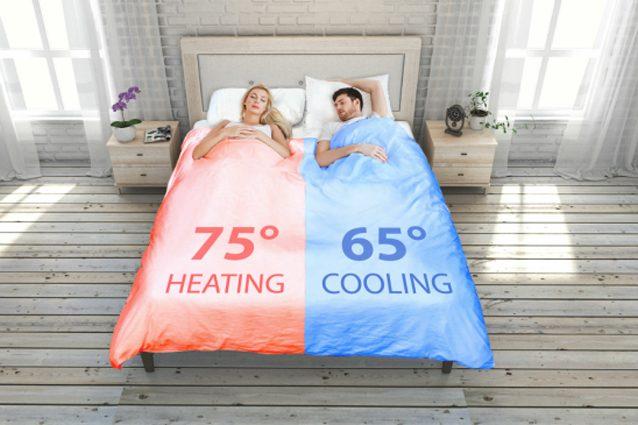 SmartDuvet Breeze, il letto che si rifà da solo e permette di regolare la temperatura del proprio lato