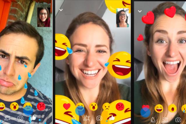 Facebook Messenger introduce nuovi filtri animati per le videochiamate