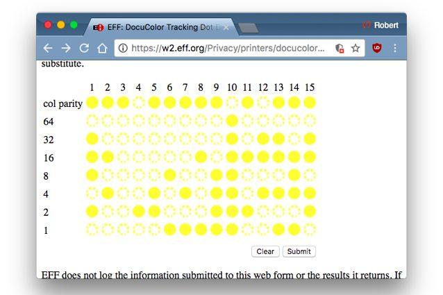 """I misteriosi puntini gialli sui documenti: ecco come ci """"spiano"""" le stampanti"""