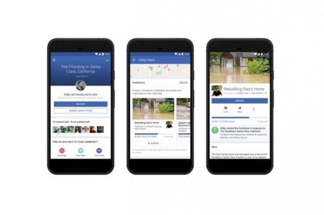Il Safety Check di Facebook si espande: gli utenti potranno richiedere donazioni