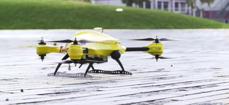drone defibrillatore