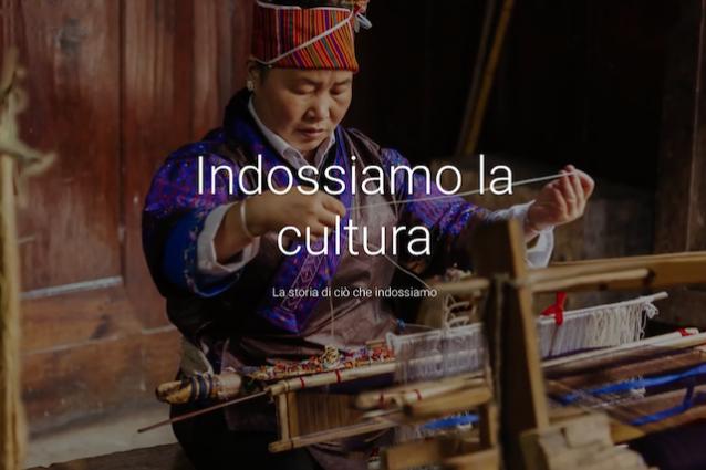 """""""Indossiamo la cultura"""", il progetto di Google per digitalizzare 3.000 anni di moda"""