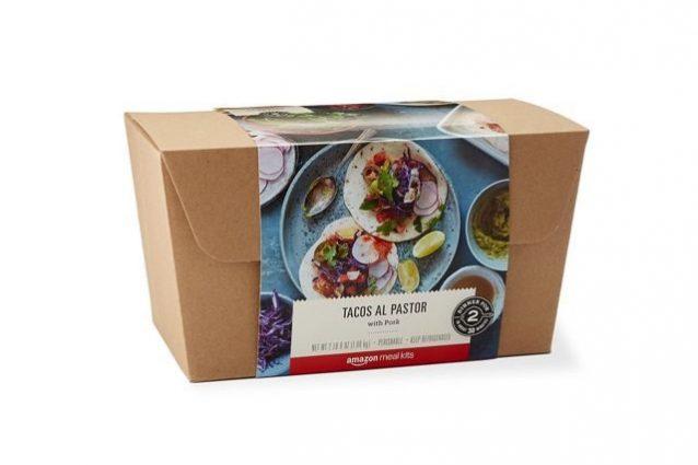 Con Amazon tutti saranno chef: in arrivo i kit-pasto