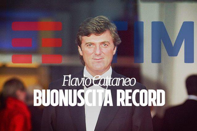 Tim, Cattaneo lascia con una buonuscita da 25 milioni di euro