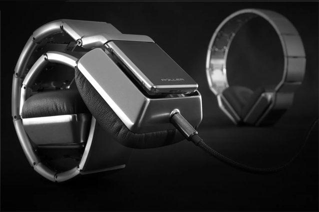 Luzli Roller MK01, le cuffie che si indossano come un bracciale (ma costano 3.000 euro)