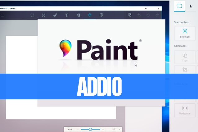 Windows dice addio a paint microsoft uccider il for Programma di disegno software