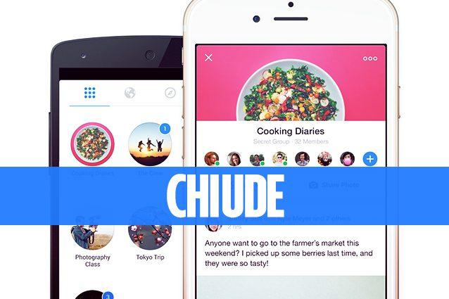 Facebook annuncia la chiusura dell'app Groups: veniva utilizzata per gestire i Gruppi